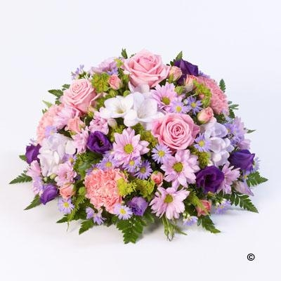 Classic Posy   Lilac and Pink