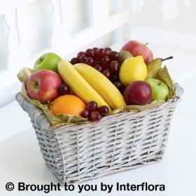 Fruit Basket with 125g Maison Fougere Chocolates