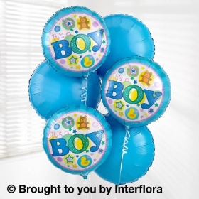 Baby Boy Balloon Bouquet Pack